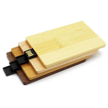 Wooden Card Usb Flash Drive Promotional