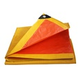 Yellow Tear Proof Tarpaulin Ground sheet