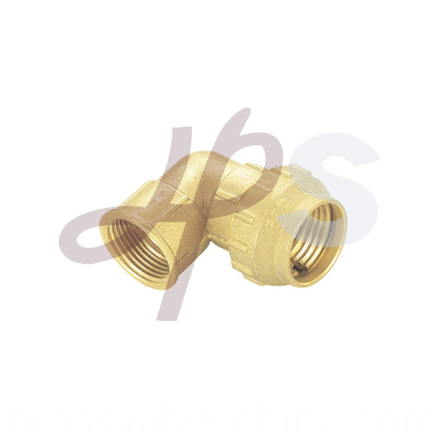 Brass Compression 90 Female Elbow Coupling H807
