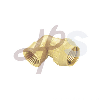 Brass compression 90 female elbow coupling