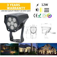 12W Waterproof LED Flood Light