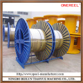 Corrugated type wire spooling