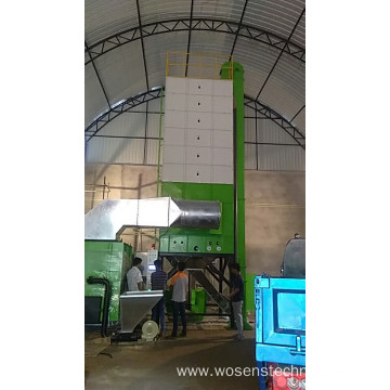 Raw Rice Dryer  high efficiency husk furnace