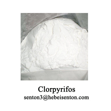 White Crystalline Pesticides Clorpyrifos TC