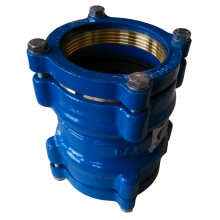 PEDuctile Iron Adaptor restraint  coupling
