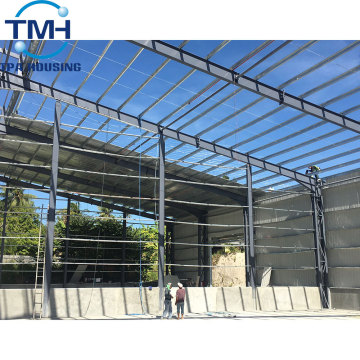 light steel frame building steel structure design warehouse