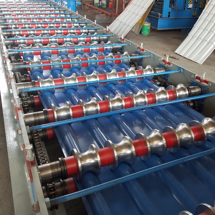 Step Glazed Tile Machine