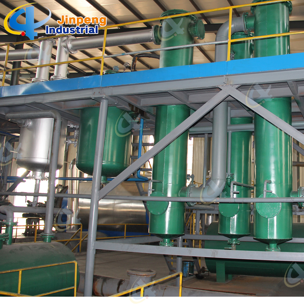 Plastic Recycling System Pyrolysis Fuel