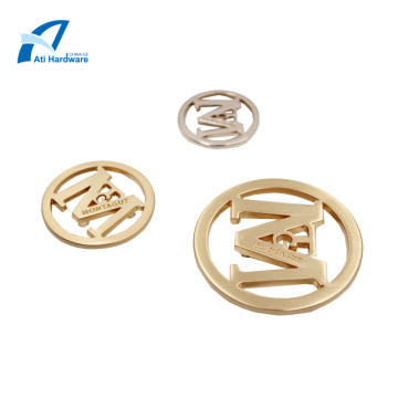 Latest Deign Metal Clothing Tag Logo Handbag Hardware