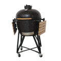 Iron Window Grill Design Kamado Charcoal BBQ Grill