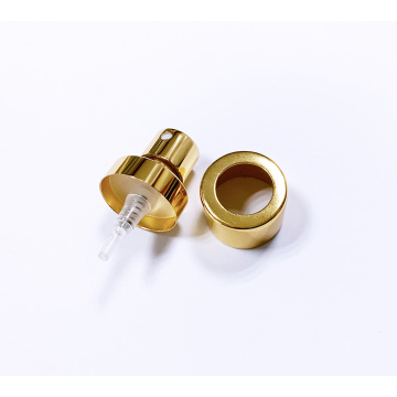 20/400 shiny gold silver perfume sprayer with collar