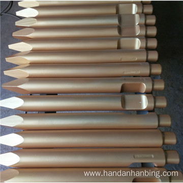 Hydraulic Breaker Chisels for Excavator Spare Parts