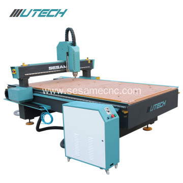 3.2kw water cooling cnc router 3d wood machine