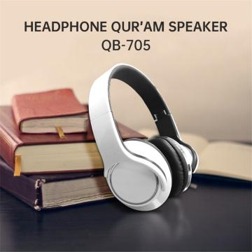 Equantu Bluetooth Headphone Noise Cancelling TWS Earphone Wireless Quran Speaker Music Player for muslim