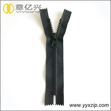 No5 bag plastic zipper with thumb puller