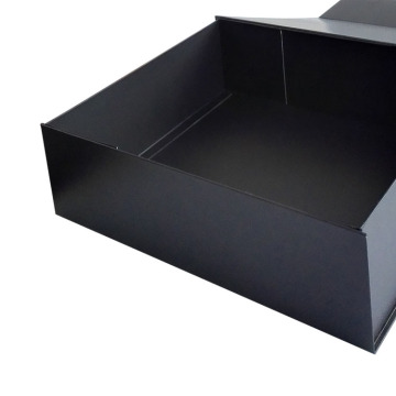 Black Custom Wholesale Folding Gift Paper Box