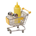 3pcs condiment tools with mini trolley set