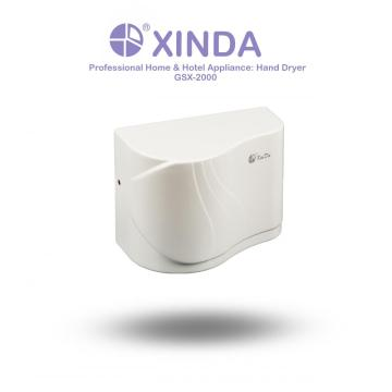 Anti-bacterial and anti-virus hand dryer