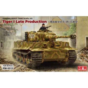 [Rye Field Model] Ryefield Model RFM RM-5015 1:35 Tiger I Late Production