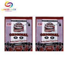 Custom Printed Plastic 3 Side Seal Sachet