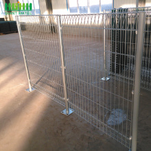 Welded Galvanized BRC Rolled Top Wire Mesh Fence