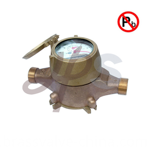 lead free USA PD water meter