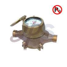 NSF lead free bronze PD AWWA water meters