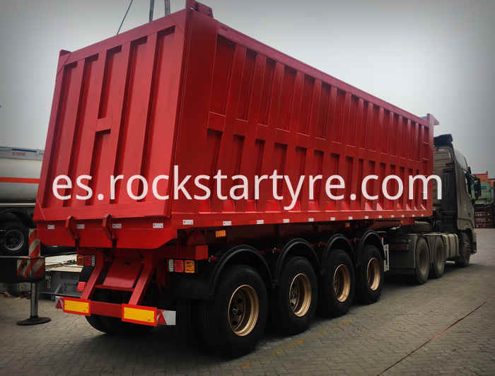 4 Axle Dump Trailer To Ghana