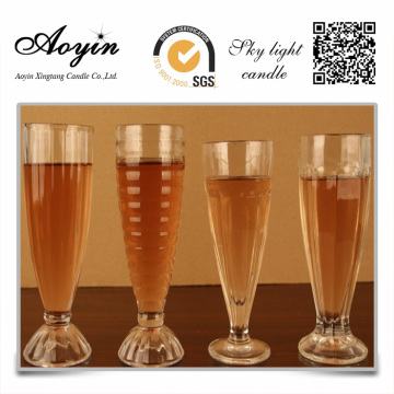 Decoration gel candle glass candles australia