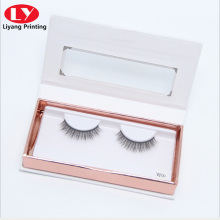 book paper box with window for false eyelash