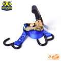 Truck Cargo Lashing Ratchet Tie Down Strap With Hook