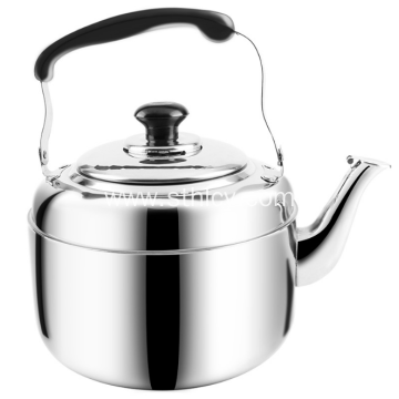 Stainless Steel Flat-bottomed Whistle Kettle