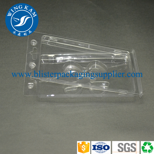 Plastic PVC Clamshell Small Packaging