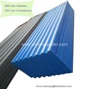 Fireproof A1 Heat Insulating MgO Corrugated Roofing Sheets