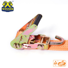 Polyester Car Ratchet Strap/Ratchet Tie down/Lashing Strap