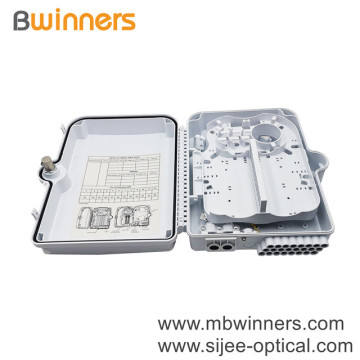 ODB 24 Core Optical Fiber Terminal Box Ftth Fiber Optic Distribution Box Outdoor Wall Mounted Ftth Box