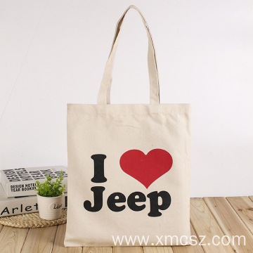 Cartoon customized shopping tote bag with handle