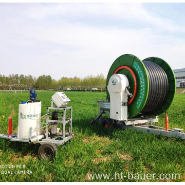 Newest model Hose Reel irrigation system Sprinkler