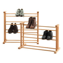 Beech Outdoor Waterproof Amazing Wooden Shoe Rack