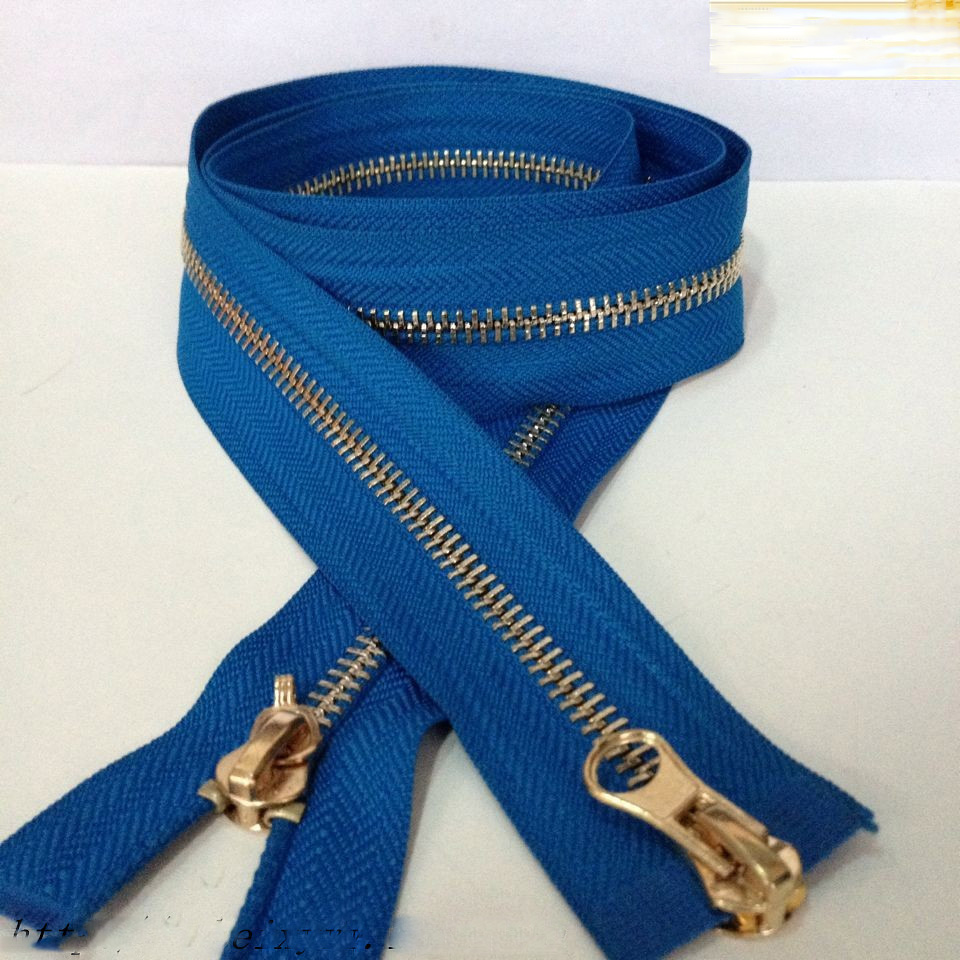 brass zipper (7040)