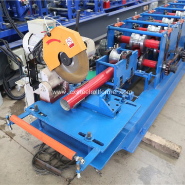 Drain water corrugated round pipe roll forming machine