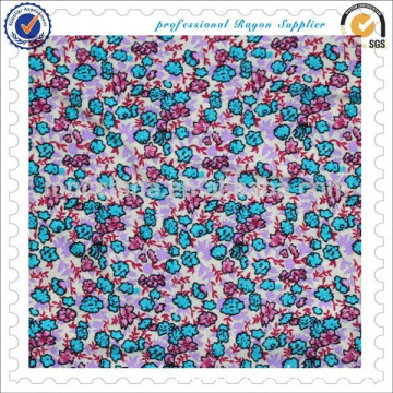 100% Viscose printed fabric rayon fabric
