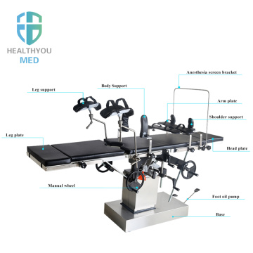 High quality Manual OT table