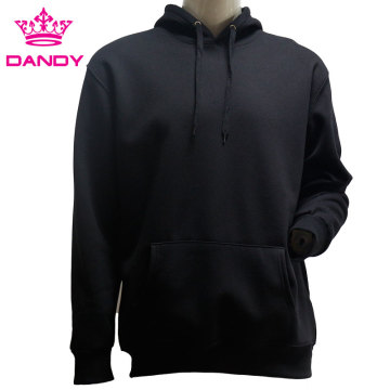 Plain cotton casual hoodies