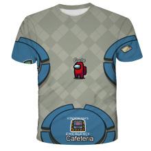 Game Among Us Impostor Adult Children Boys Girls T Shirts Short Sleeves O-Neck Hip Hop 3D Harajuku Streetwear T-Shirts