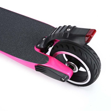 5.5 inch Carbon Fiber Pink Color Electric Scooter