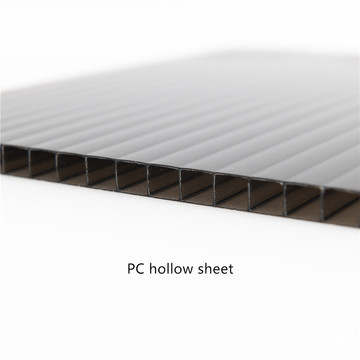 Customized Color Polycarboante Hollow Sheet
