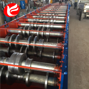 Steel floor deck panel forming making machines plant