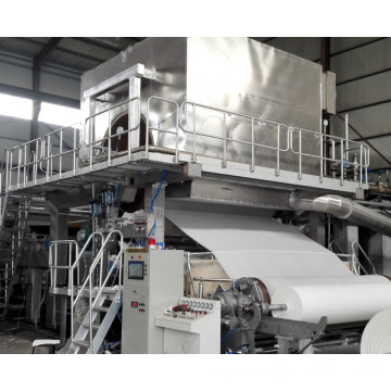 Wood Pulp Toilet Tissue Paper Making Machine