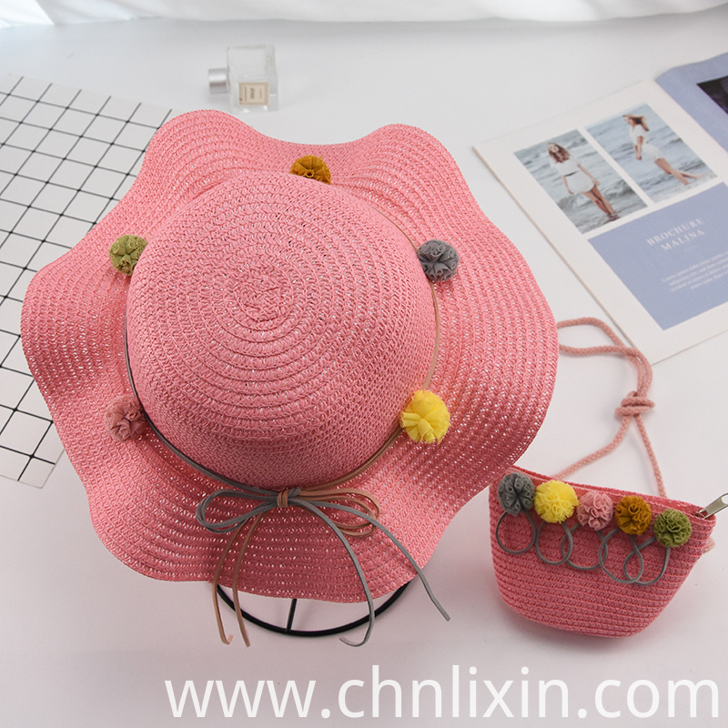 Children Summer Straw Hat Supplier